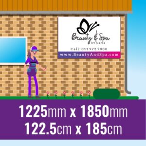 Chromadek Signs 1225mm x 1850mm with premium full colour print