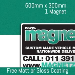 Car Magnets - 500mm x 300mm (Single Unit)