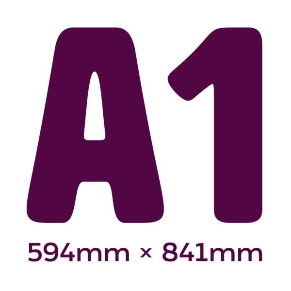 Chromadek Signs A1 Size With Premium Full Colour Print