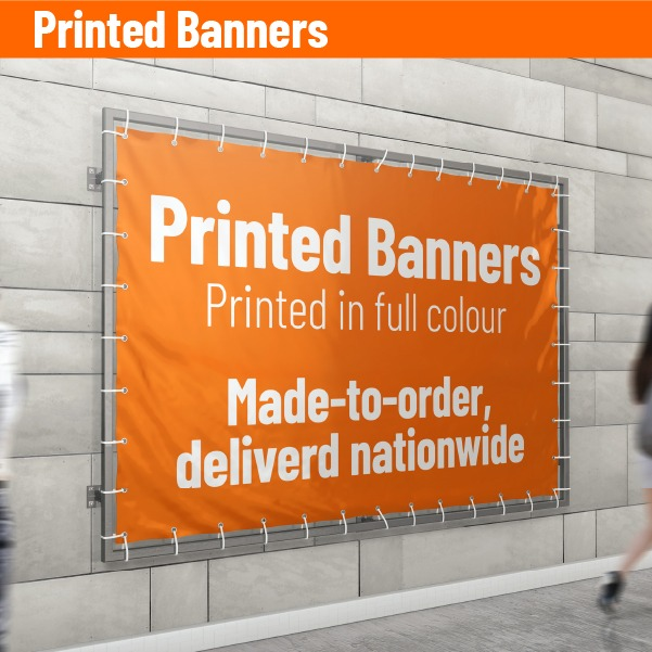 Banners, Printed Banners, Banner Printing