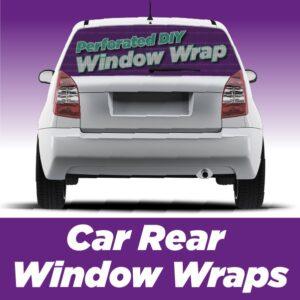 Contravision Car Rear Window Wrap