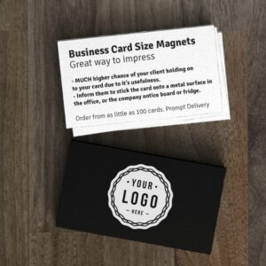 Business Card Size (90mm x 50mm)